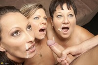 free mature porn site woman tube galleries mature three sluts share one hard cock