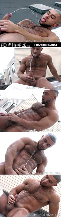 golden porn shower francois sagat golden shower fetish pisses all over himself roof attachment