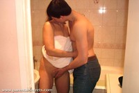 bathroom free man old porn tits porn russian mature amalia fucks young man bathroom pictures
