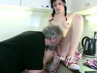 horny old man porn horny slim girl lets old man seduce angry boyfriend joins
