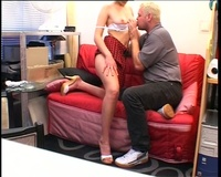 horny old man porn horny old man screws sexy brunette