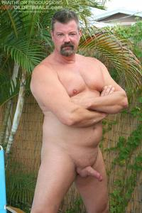 hot older porn hot older male mitch davis beefy chubby smooth daddy jerking his thick cock amateur gay porn saturday july