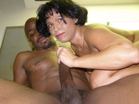 housewife in mature porn mature housewife bambi gives monster black dick expert sucking got ripe pussy ripped milf