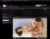 best mature porn site screenshot puremature