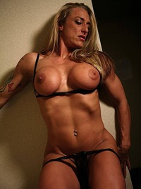 mature black female porn muscle babe muscled