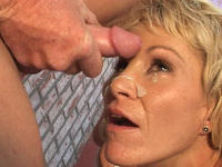 mature cum shot porn media facial mature porn