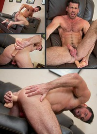 mature hairy porn men over billy santoro hairy mature solo dildo