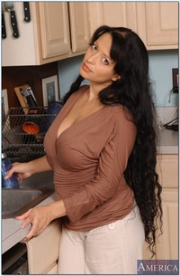 mature latina porn pics pictures busty latina mom mason storm impaled hard dong kitchen