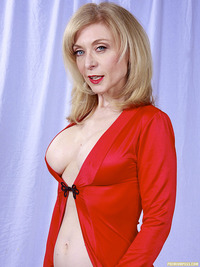 mature pic porn star nina hartley modelnews sexy mature pornstar ravishing red lingerie wrap