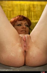 mature porn redhead media original anal assplay dildo domina dominated mature pale redhead topsexiness