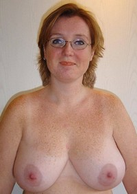 mature porn saggy amateur porn mix freckled mature saggy tits photo