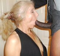 mature porn suck interracial blowjob photo brunette ready suck bbc time