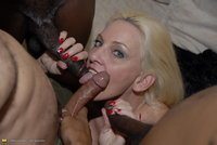 mature porn suck mature horny blonde loves suck loads black dick