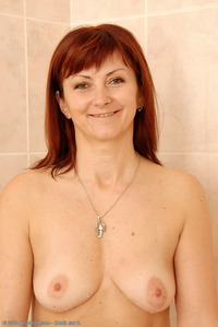 mature redhead porn galleries all over mature redhead diana taking shower porn collection