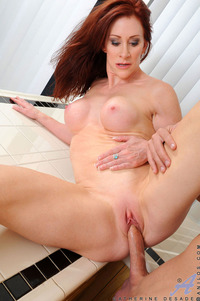 mature redhead porn mature redhead porn gets fucked