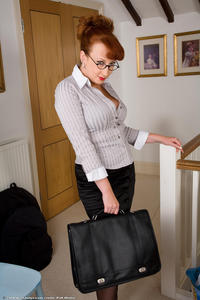 mature secretary porn redhead porn red xxx rita mature nylons secretary office cunt photo