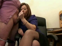 mature secretary porn movies hot mature secretary jerks jizz from bosses cock
