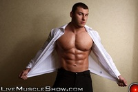 old sex porn livemuscleshow naked muscle boy bodybuilder year old lev danovitz young muscled hunk huge abs pecs lats massive arms long thick cock gay porn porno video pics gallery photo free shows off his body
