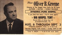 old time porn oliver greene best preacher heard yet old time religion