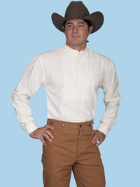 old west porn magento media catalog product eab scully mens solid pleated bib old west shirt men small