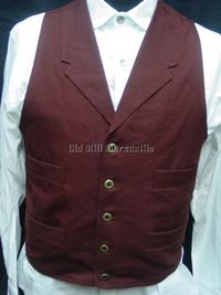 old west porn web ebay western cowboy brown leather vest old west style