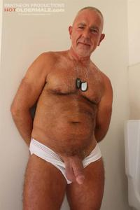 older male porn hot older male rex silver daddy hairy old jerking his thick cock amateur gay porn