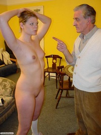 older man porn otk spanking sassy blonde from older man