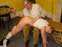 older man porn otk spanking sassy blonde from older man porn