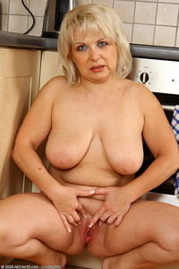 50 mature porn pics year old czech granny shows off kitchen skills nude mature porn