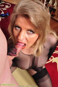 all mature gallery footjob pantyhose angel gallery picture black encasement blowjob