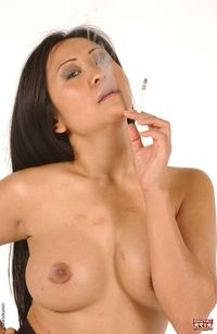 More asian smoking bimbo 7
