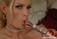 blonde mature porn mature blonde loves glass toys hot