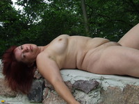 bbw mature porn galleries amateur porn bbw mature outdoor photo