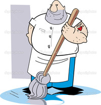 big hairy mom pics depositphotos hairy man mopping dirty floor stock illustration