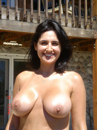 big naked moms breasted naked mom exposing hard nipples sun smiling sexy tits