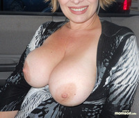 big naked moms mom pulled out tits car squeezing mommy