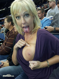big naked moms blonde mother showing off nipples breasts game busty exposing