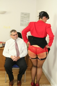 big pics mature mature spanking secretary ass caned movie