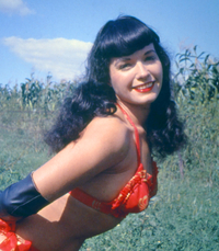 centerfold gallery porn star stocking wikipedia commons bettie page