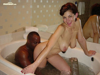 black mom sex sexy mother having black man bath tub interracial mom guy