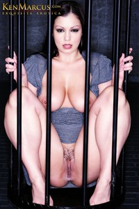 centerfold image model porn star promos aria giovanni caged