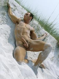 centerfold image model porn star gallery eric reins beach