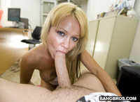 blonde mom pictures blonde milf gets hot milky facial