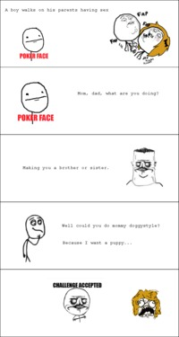 brother sister mom sex pics funny pictures auto rage comics challenge accepted face