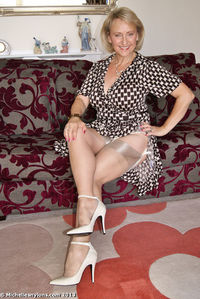 busty mature images michellesnylons stocking tops ready tease