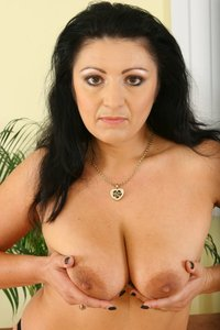 busty mature pic busty mature playing toys