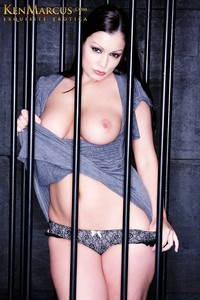 centerfold pic porn star promos aria giovanni caged
