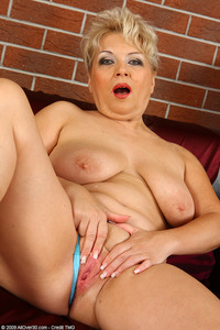 busty mature porn galleries all over busty granny elza huge blue dildo mature feb