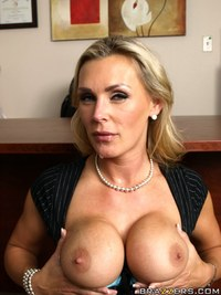 busty milfs porn pics pictures tits work pics busty milf office nasty tanya tate gets taste cock blockers dick
