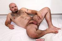chubby hairy mature porn butch dixon tommo hawk chubby hairy guy playing uncut cock amateur gay porn bear plays his thick ass